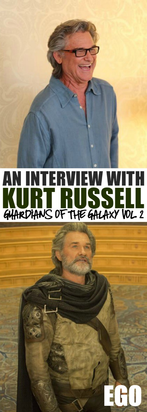 An interview with Kurt Russell - How Kurt Russell Got The Role Of Peter Quill's Father In Guardians of The Galaxy Vol. 2
