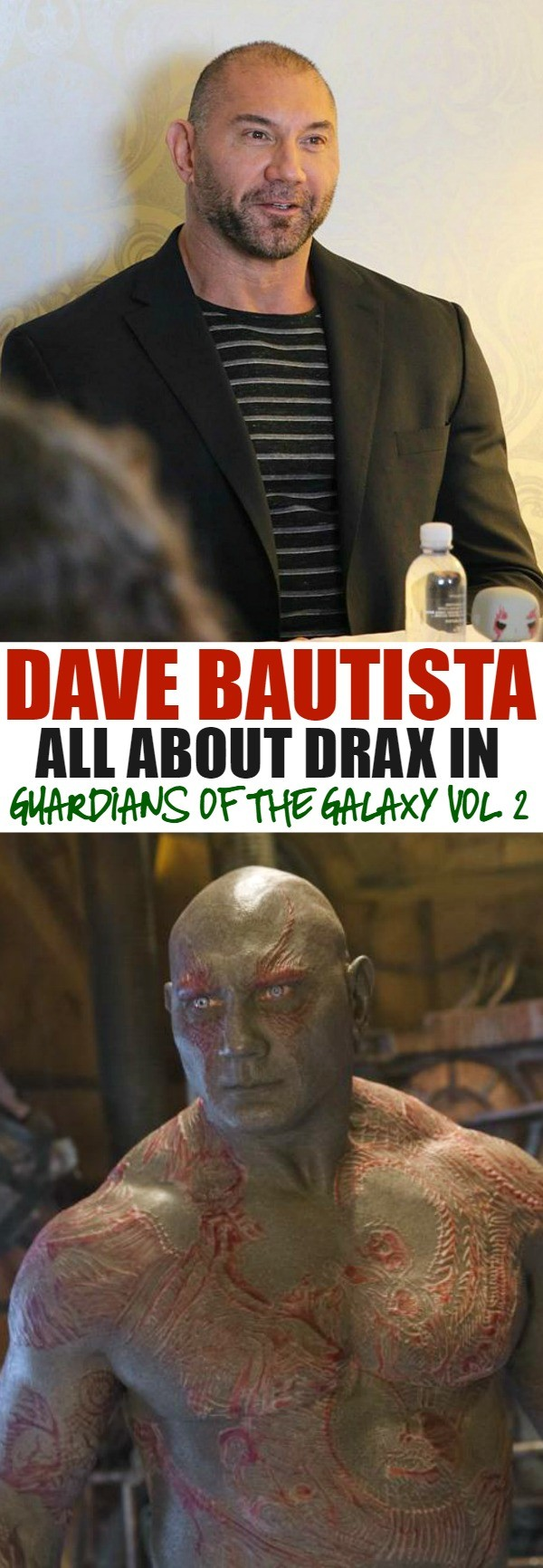 Dave Bautista Interview - Tells How He Feels About Drax In Guardians of the Galaxy Vol. 2