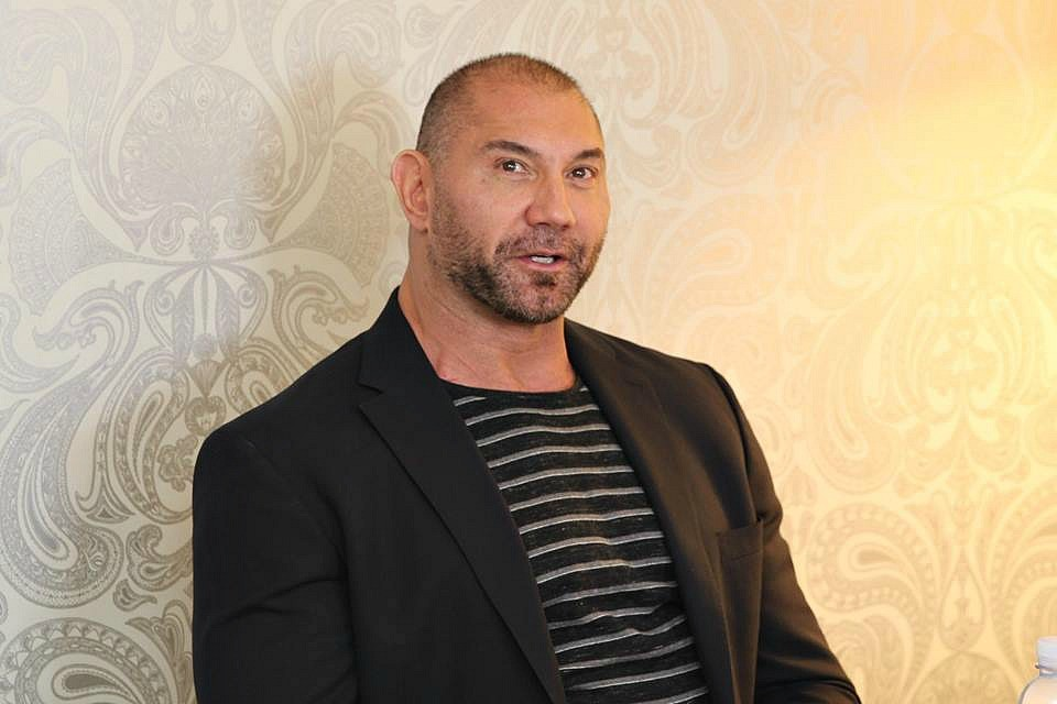 Dave Bautista at Marvels Guardians of the Galaxy vol 2 press day, The London Hotel, Los Angeles, CA