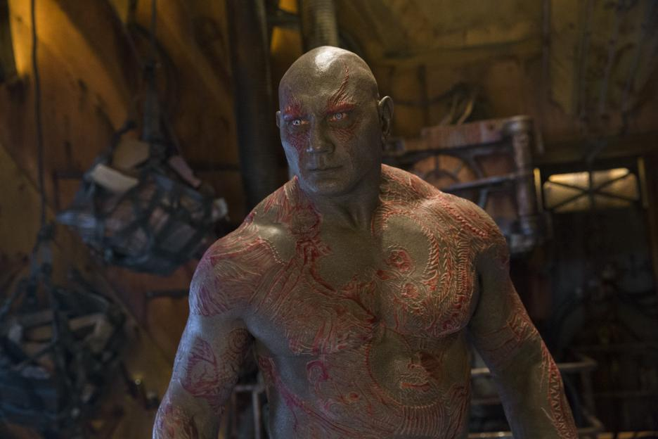 Guardians of the Galaxy Vol 2 Dave Bautista is Drax