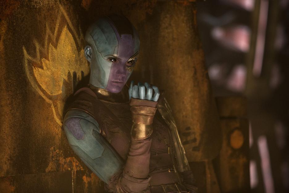 Guardians of the Galaxy Vol 2 movie Nebula