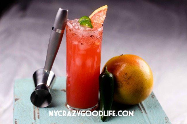 Jalapeno grapefruit margarita recipe