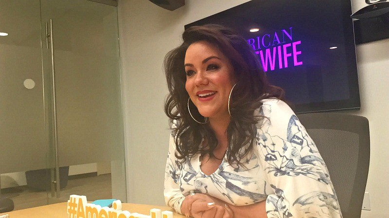 ABC's American Housewife star Katy Mixon Q&A day in Los Angeles, CA, April 2017