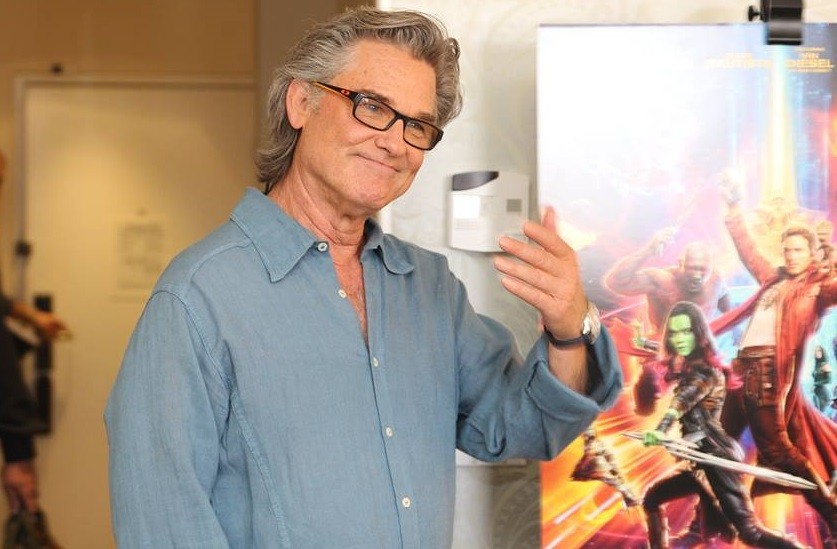 Kurt Russell at Marvels Guardians of the Galaxy vol 2 press day, The London Hotel, Los Angeles, CA