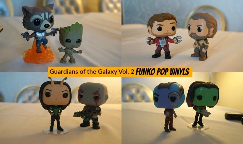 Marvel Guardians of the Galaxy 2 merchandise, Funko POP vinyl collectible figures