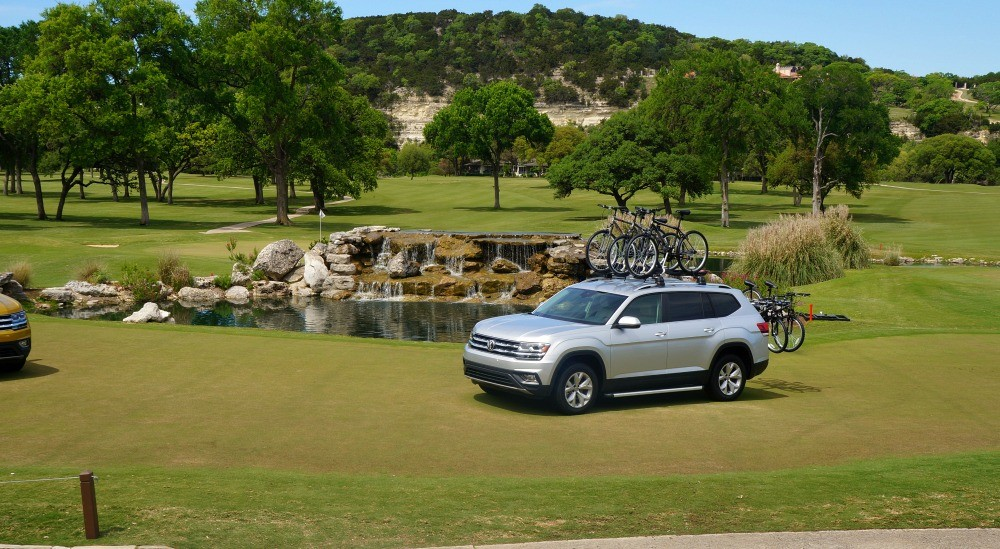 2018 VW Atlas review drive in Boerne, TX
