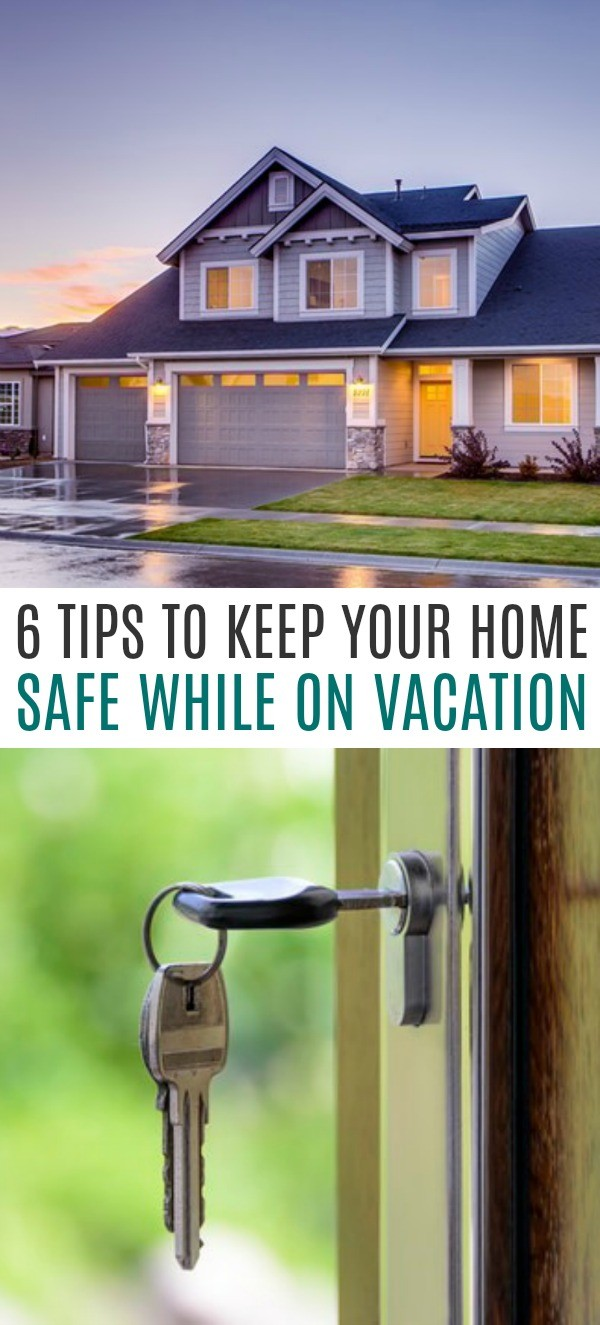 6 Tips To Keep Your Home Safe While On Vacation This Summer - these important summer home safety tips are so timely!