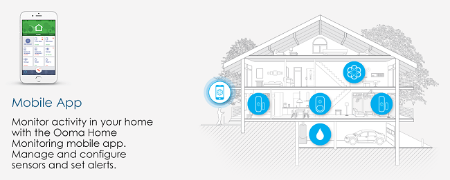 Ooma home security system - summer home security tips