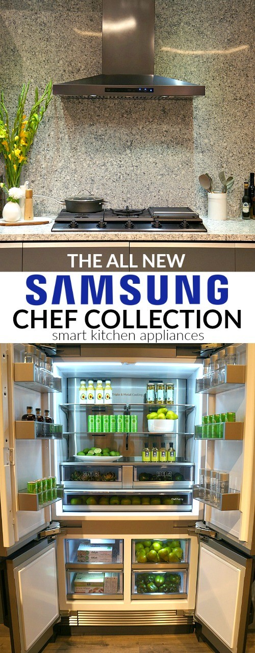 The Samsung Chef Collection Blends Smart Kitchen Appliances With Modern Style