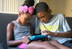 Kids play together on the Amazon Fire Kids Edition tablet