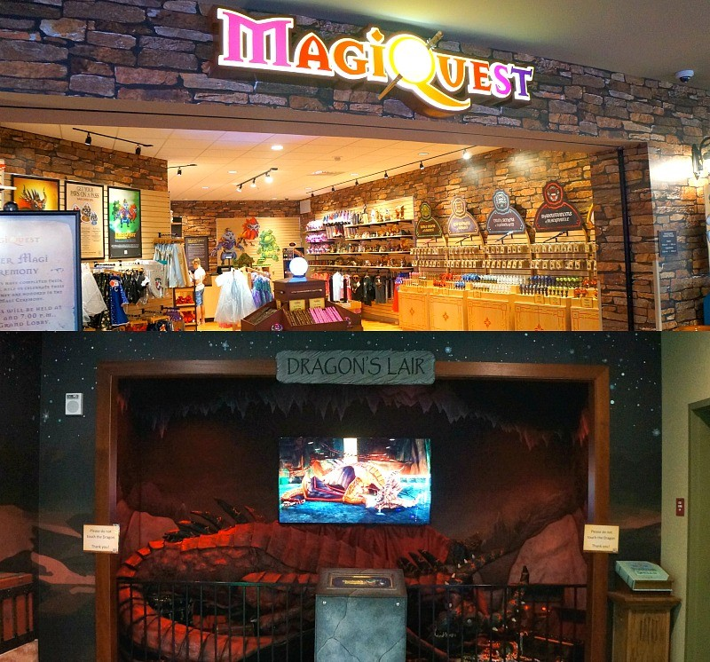 MagiQuest attractions at Great Wolf Lodge in California