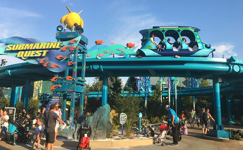 New attractions at Sea World San Diego, Submarine Quest ride at Ocean Explorer