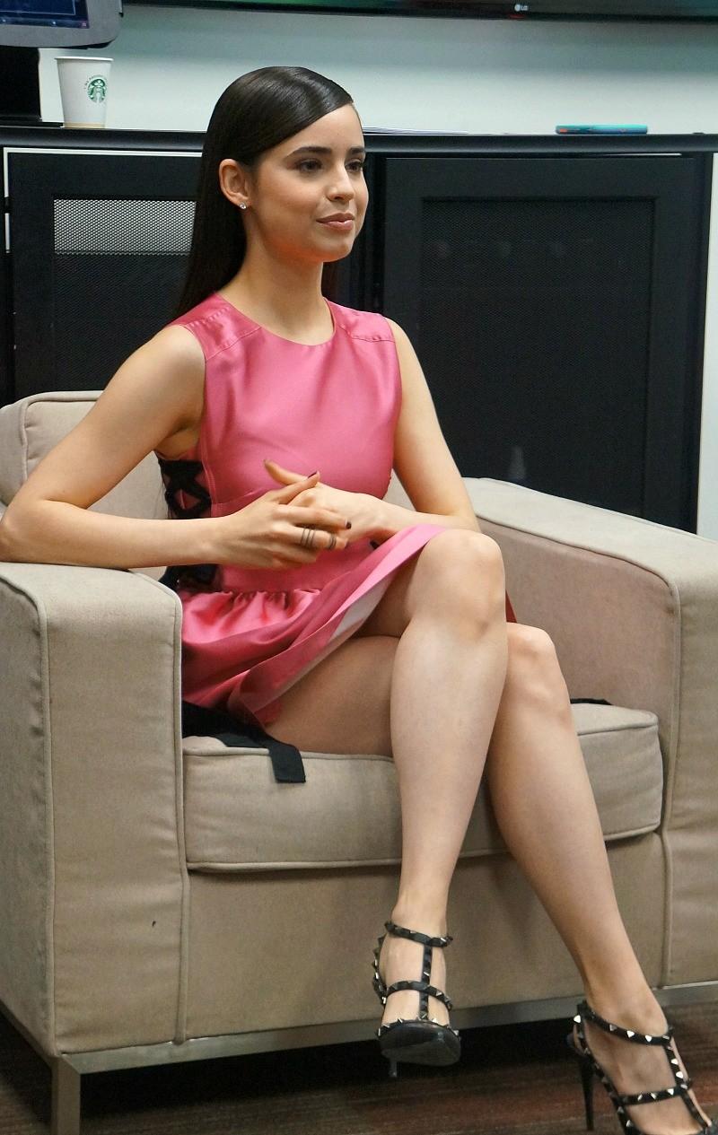 Sofia Carson plays EVIE in Disney-s Descendants 2 movie