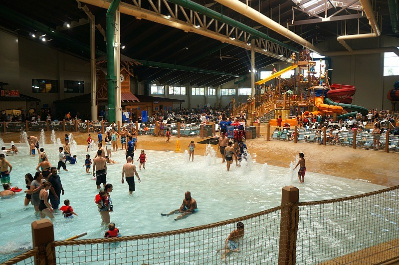 wave pool and kids play fort mackenzie at great wolf lodge in garden grove california - Great Wolf Lodge Garden Grove