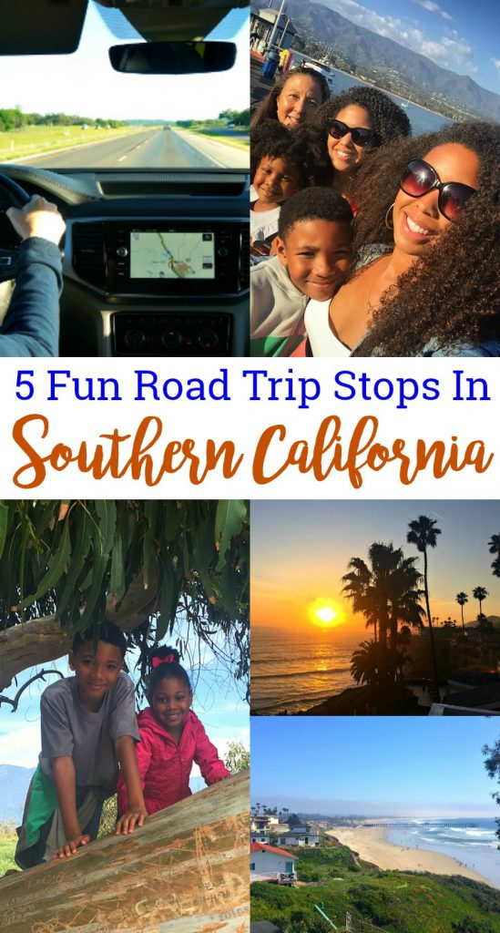 5 Fun Southern California Road Trip Stops To Make On Your Way Up The Coast