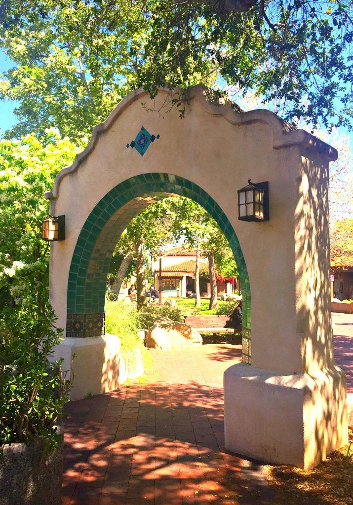Archway at The Arcade Plaza, Ojai, California