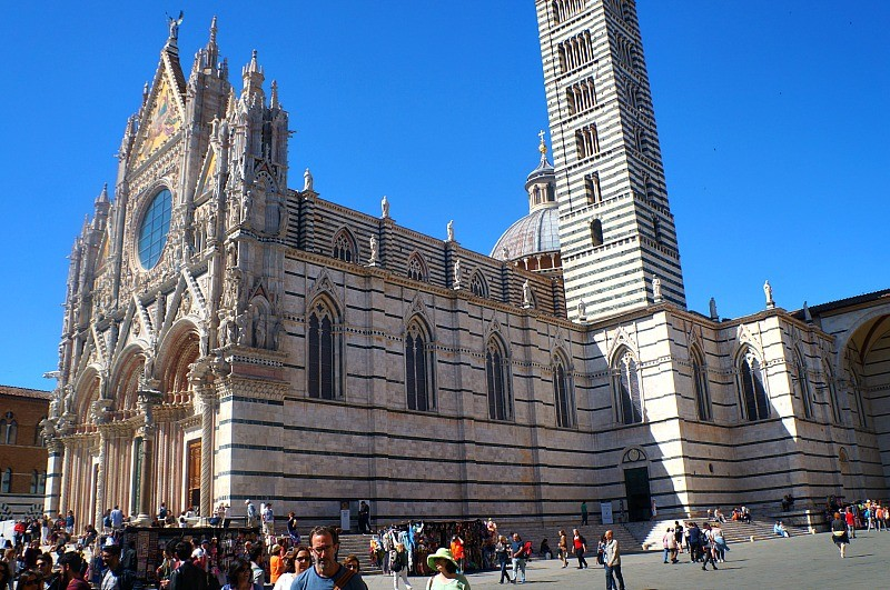 Duomo di Siena, the Siena Cathedral in Italy