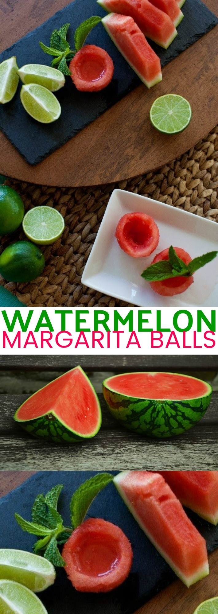 Watermelon Margarita Balls Are My New Favorite Watermelon Cocktail!