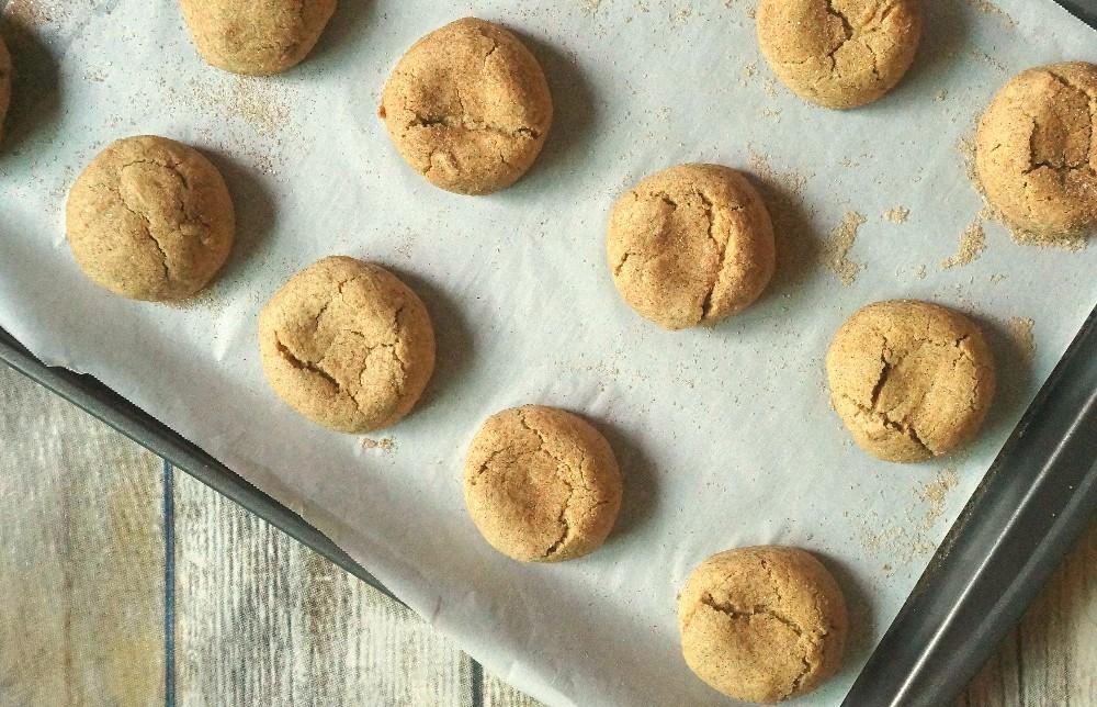 Gluten Free Pumpkin Spice Snickerdoodles Cookie Recipe