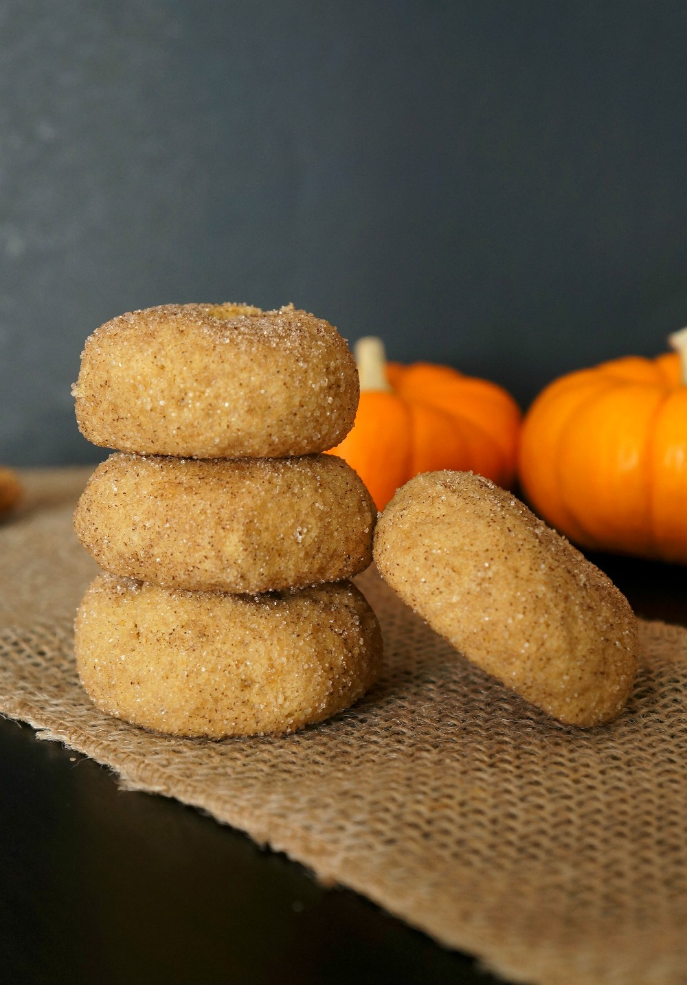 Gluten free pumpkin desserts, pumpkin spice snickerdoodle cookies