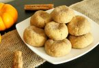 Gluten free pumpkin spice snickerdoodles