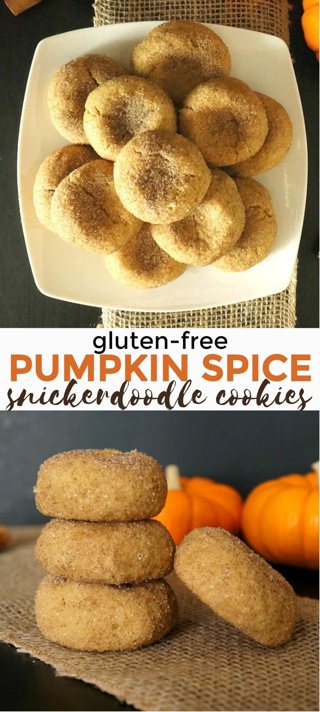 Super Soft Baked Gluten Free Pumpkin Spice Snickerdoodles Recipe