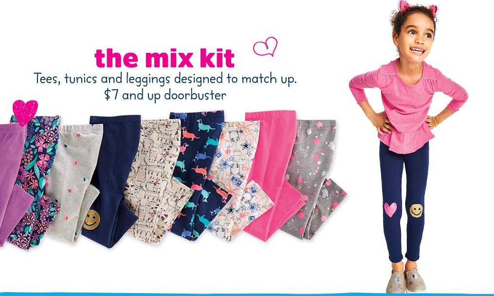 OshKosh B'gosh girls mix kit