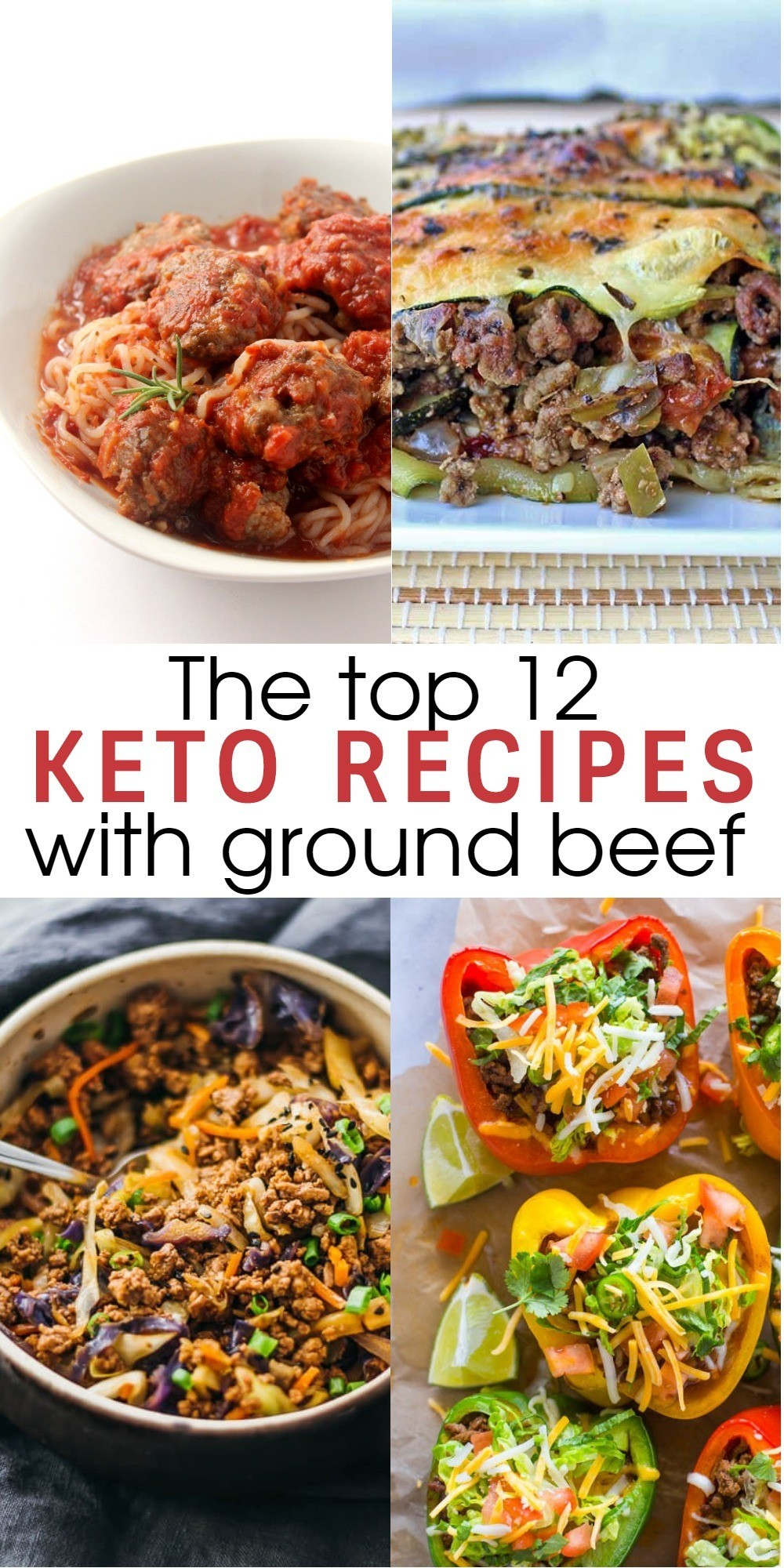 12 Flavorful and Easy Keto Recipes With Ground Beef To Try for Dinner