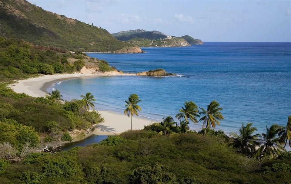 Pictures of Antigua beaches, Rendezvous Bay