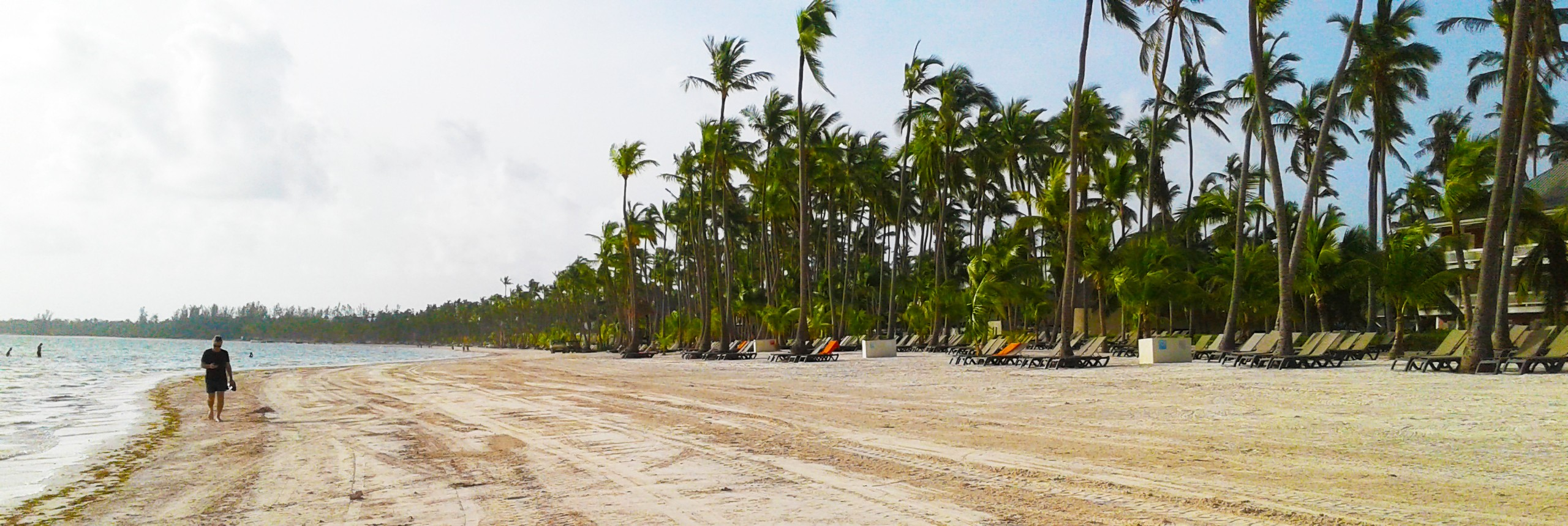 Beautiful beaches in Punta Cana, Dominican Republic