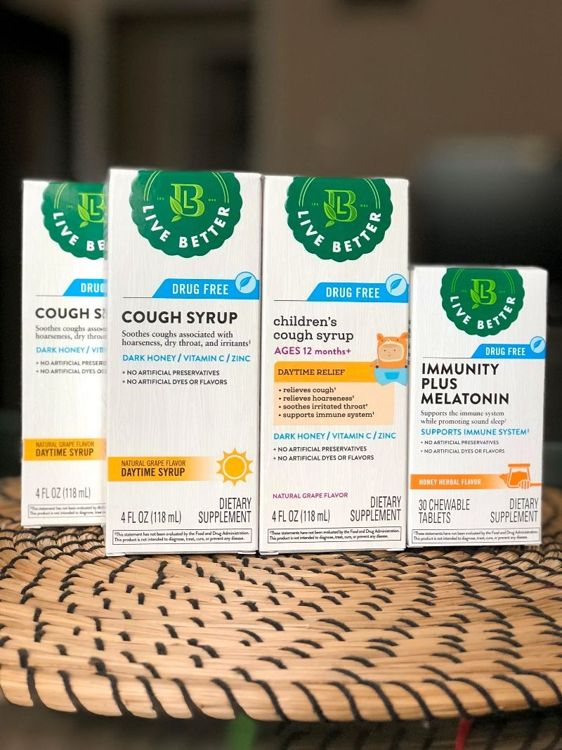 CVS Pharmacy Live Better natural cold and cough products (1)