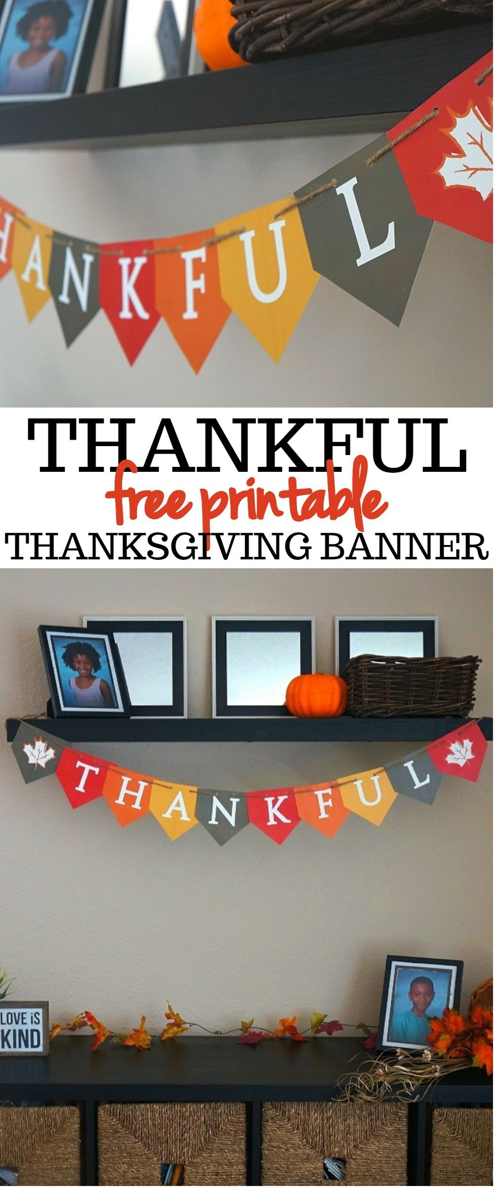 photo relating to Thanksgiving Printable Decorations titled We Get pleasure from This Festive Grateful No cost Printable Thanksgiving