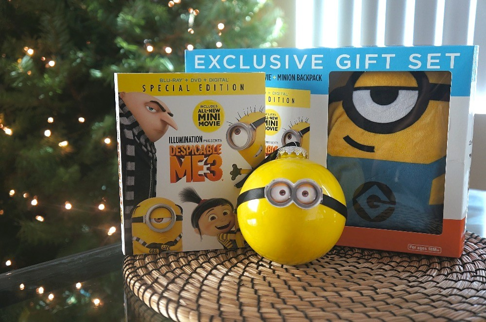 DIY Minion Christmas ornaments - Celebrate the Despicable Me 3 DVD and Blu-ray release