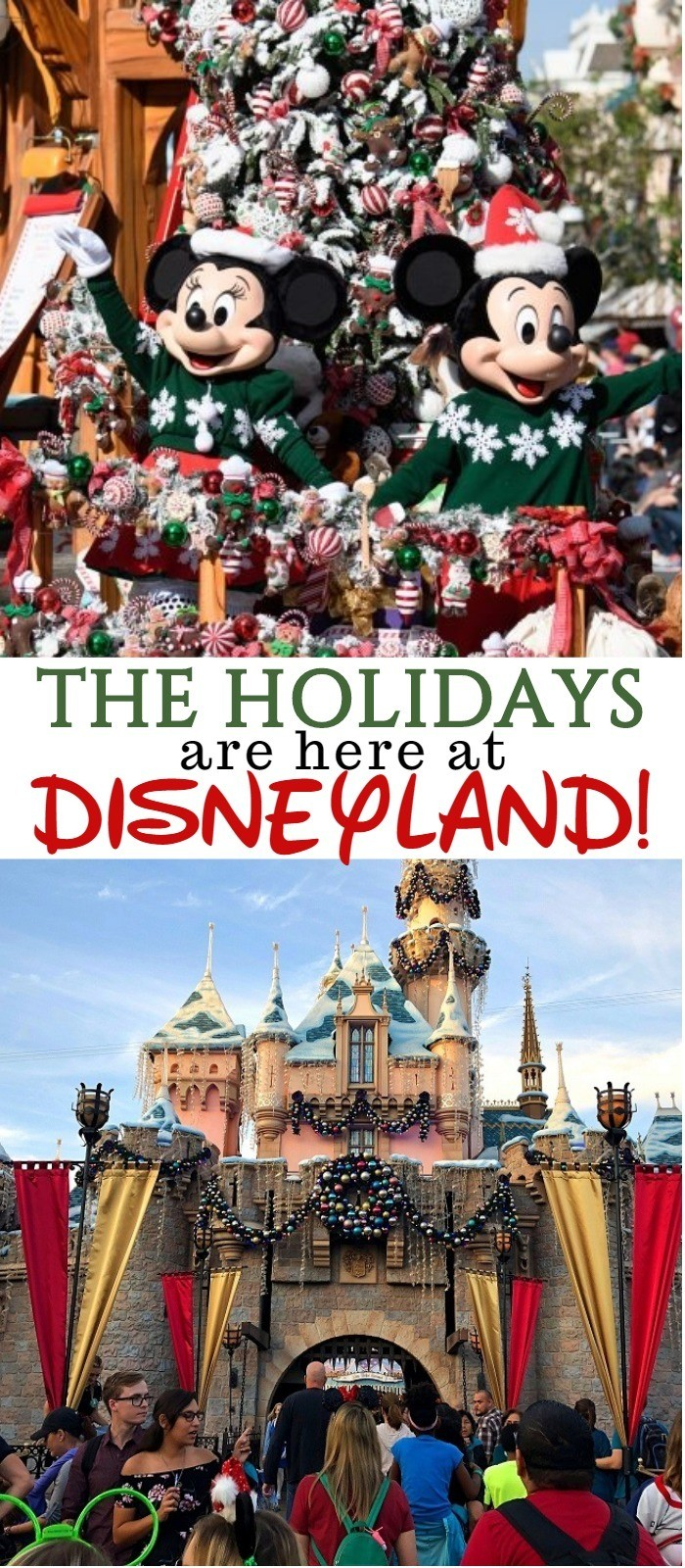 Christmas Time At Disneyland - Experience The Magic Of Disneyland Holidays!