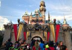 Disneyland Holidays Sleeping Beauty Castle during the day time