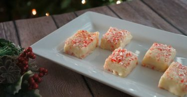 Easy white chocolate peppermint fudge recipe