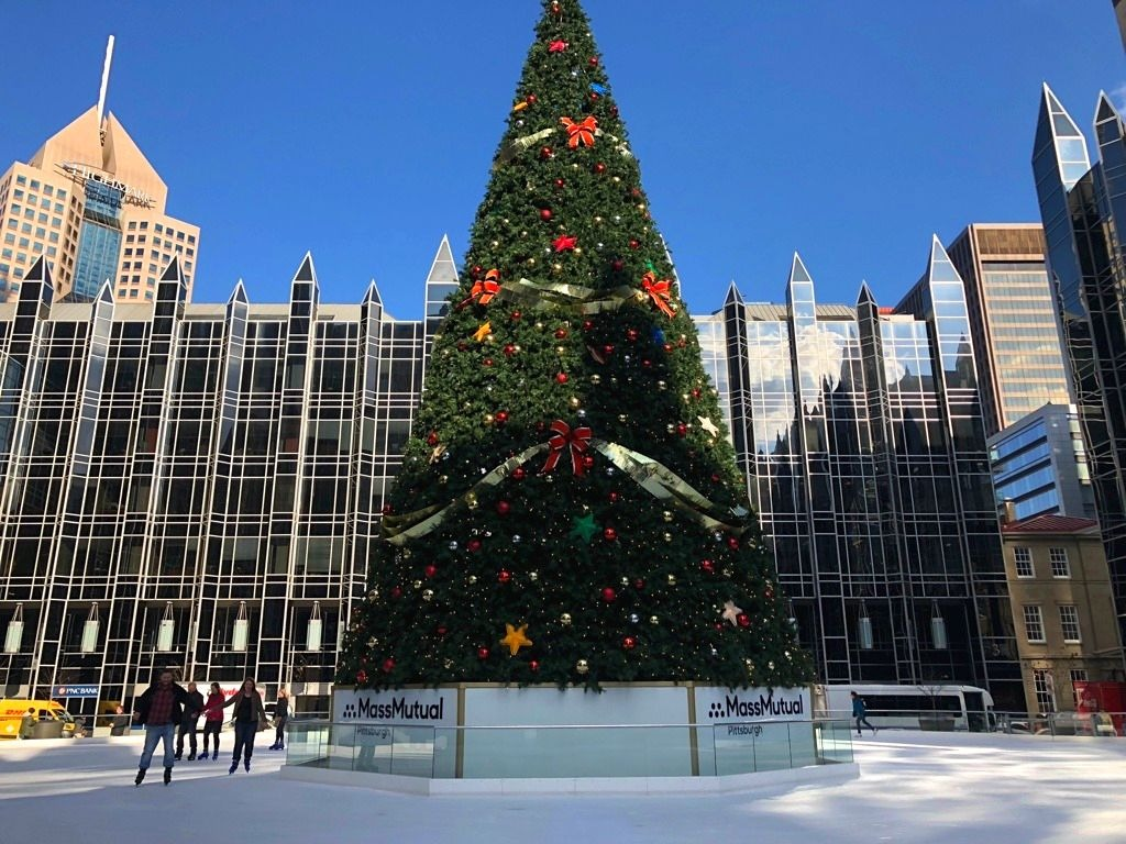 Mass Mutual PPG Ice Skating Rink in Pittsburgh