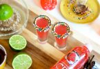 New Years Eve drink ideas vodka sparkle shots