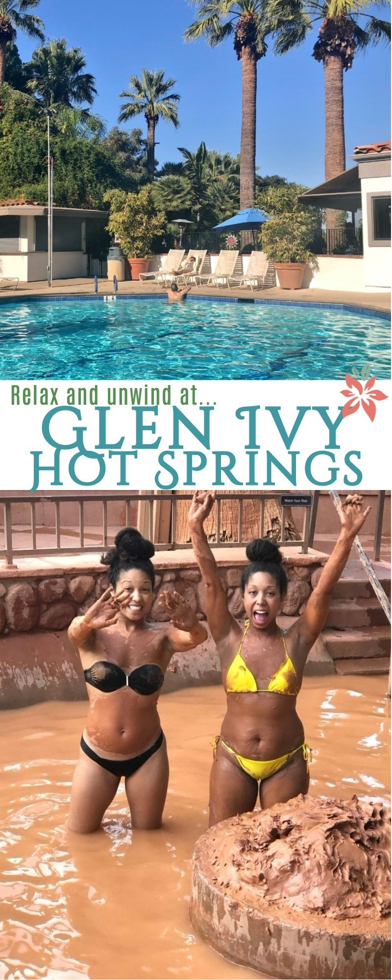 Time To Relax and Unwind at Glen Ivy Hot Springs Spa in Corona, California! If you're looking for a SoCal escape to relax, unwind, and get away from the day to day, then this is the place!