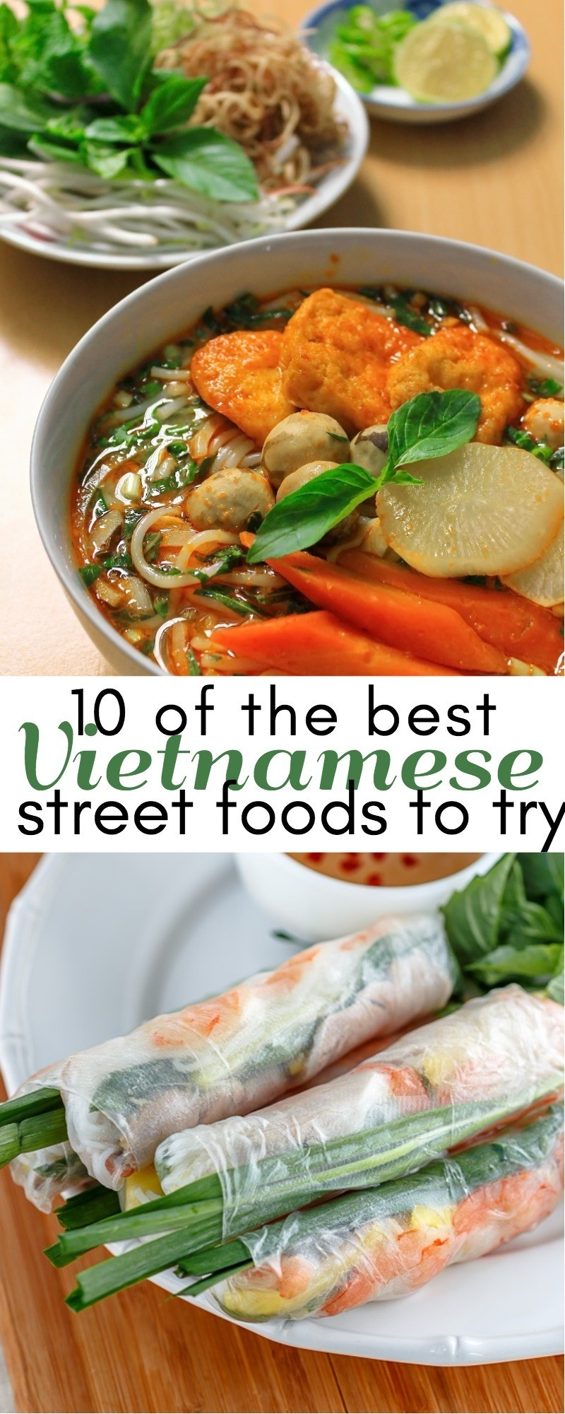 10 Of The Best Vietnamese Street Foods To Try When You Visit Vietnam | Vietnamese dishes | food of Vietnam | Vietnam street food | best Vietnamese dishes | street food in Vietnam | Vietnam street food | honeyandlime.co