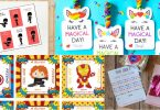 21 free printable Valentine cards for the classroom