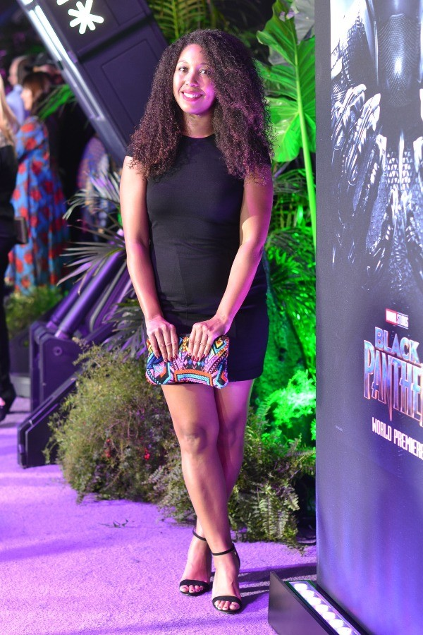 Deanna Underwood Marvel BLACK PANTHER MOVIE PREMIERE IN LOS ANGELES, CA, Dolby Theater