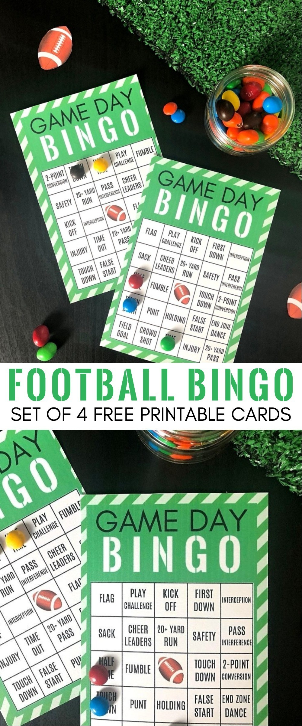 picture about Printable Super Bowl Bingo Cards called Entertaining Video game Working day Occasion Programs: Cost-free Printable Soccer Bingo