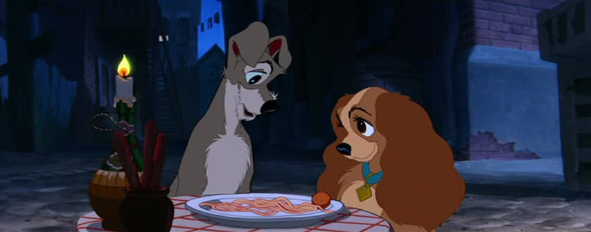 Lady and the Tramp scene on Digital Jan 20, 2018 and Blu-ray Jan 27, 2018