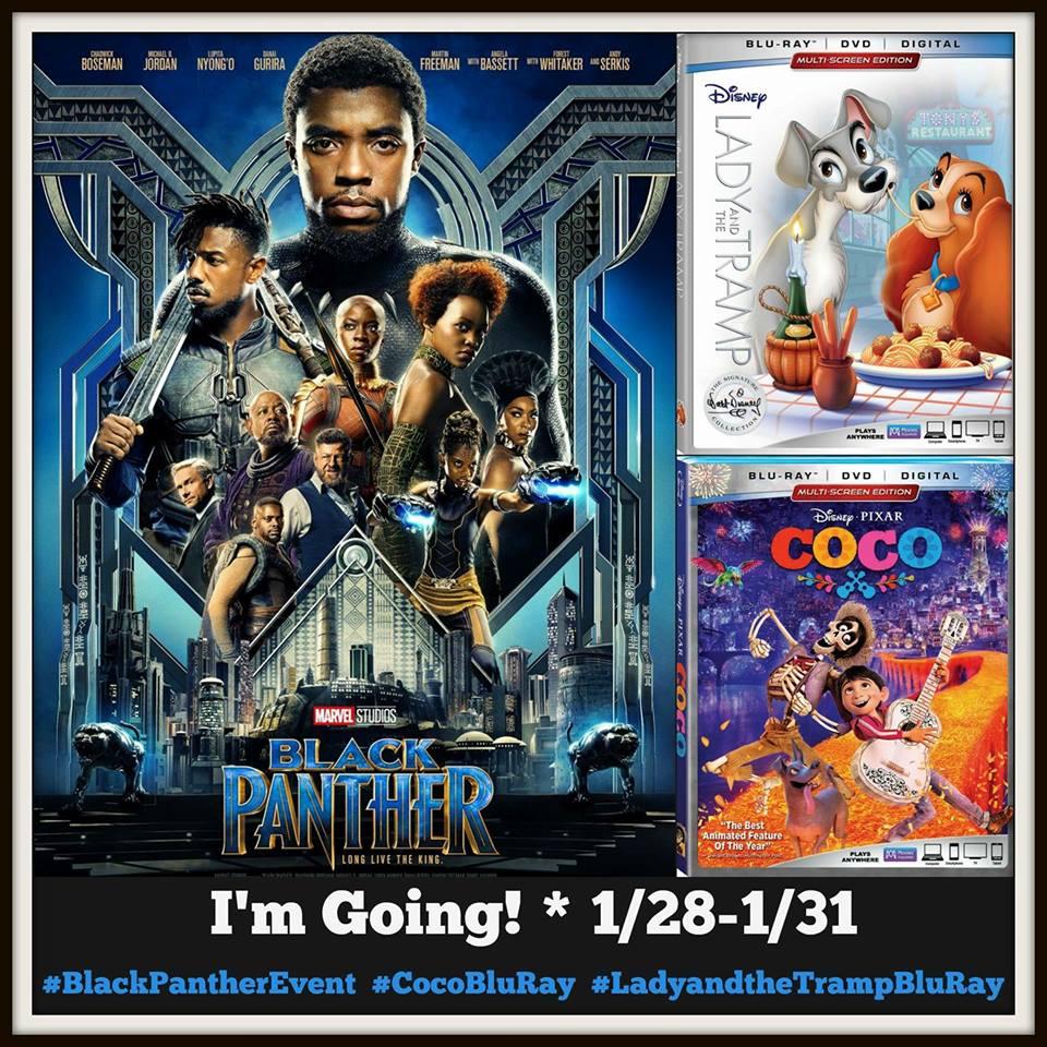 Marvel Black Panther movie premiere event button