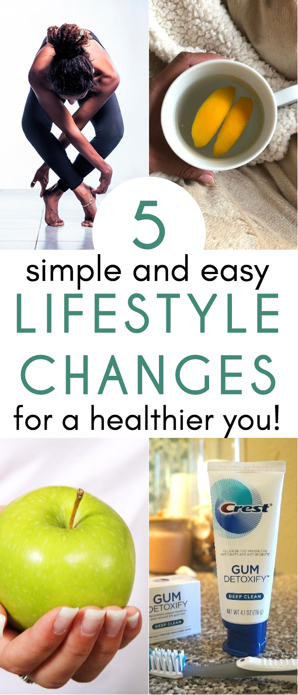 5 Healthy Swaps and Easy Lifestyle Changes To Improve Your Life