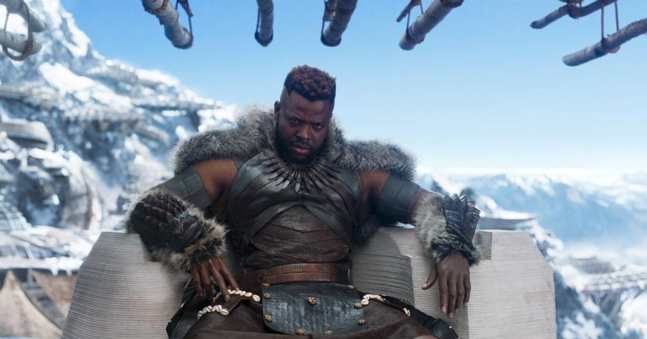 Black Panther Winston Duke is M'Baku