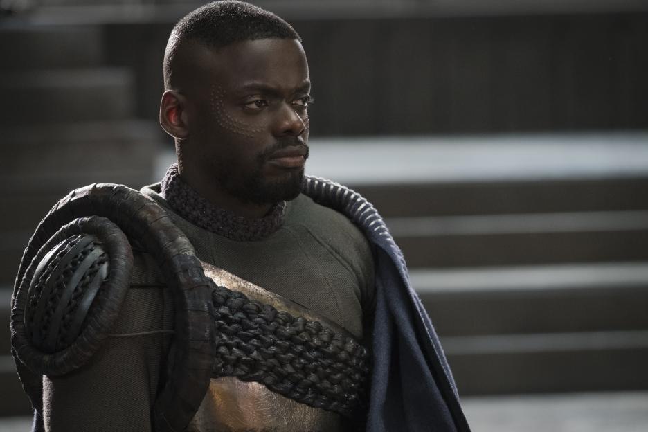Daniel Kaluuya is W'Kabi in Black Panther