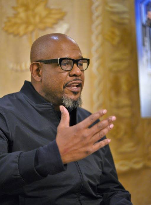 Forest Whitaker interviews with blogger group for Black Panther