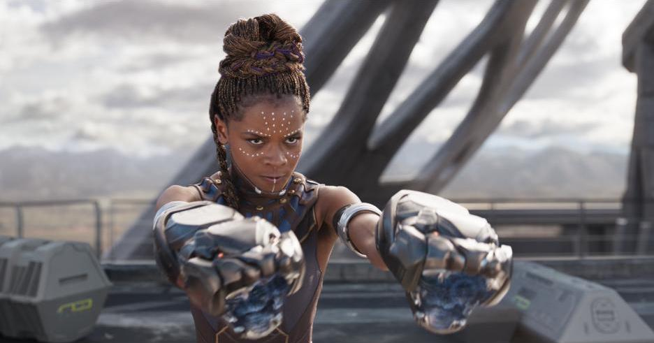Letitia Wright plays Shuri in Black Panther, T'Challa's sister, princess of Wakanda
